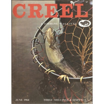 CREEL: A FISHING MAGAZINE. Volume 1, number 12. June 1964.