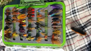 Paul's flies for Currane