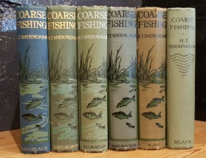 Six variant bindings of Sheringham's Coarse Fishing