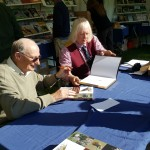"Ron Digby & David Fox signing ""Artist Falconers."""